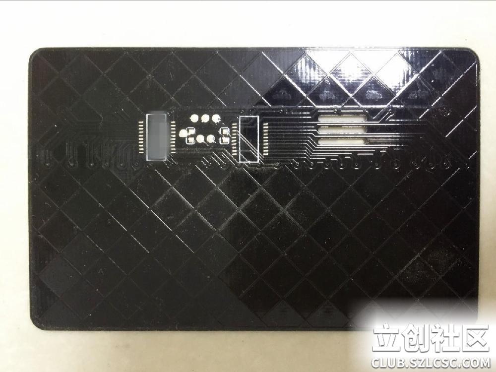 电子琴电路板实物图背面